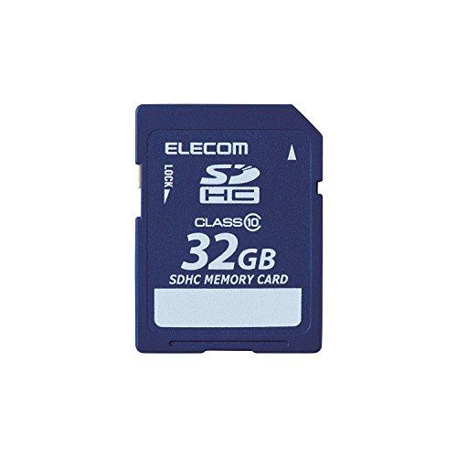 エレコム SDHCカード 32GB class10 データ復旧サービス付 MF-FSD032GC10R