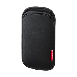 サンワサプライ マルチスマートフォンケース(5インチ用) ブラック PDA-SPC9BK