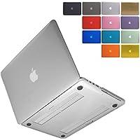 MS factory MacBook Pro Retina ディスプレイ 15 ケース カバー マックブック プロ 15.4 インチ ハードケース Mid 2012~Mid 2015/A1398 対応 全12色カバー RMC series クリスタル クリア 透明 RMC-MBR15XCL
