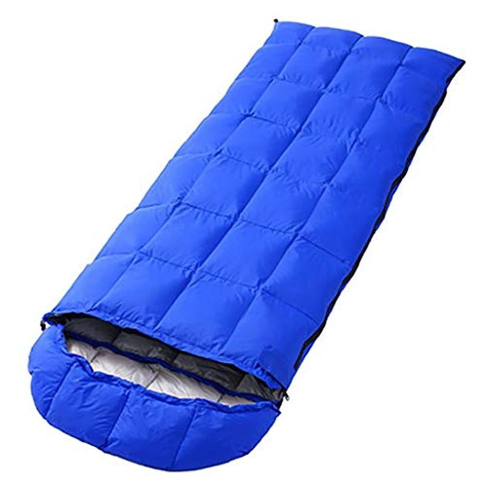 解読するケイ素宣伝CATRP 一人寝袋暖かい3シーズン軽量屋外キャンプハイキング (色 : 青)