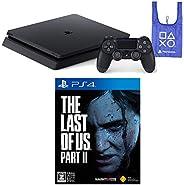 PlayStation 4 + The Last of Us Part II + オリジナルデザインエコバッグ セット (ジェット・ブラック) (CUH-2200AB01) 【CEROレーティング「Z」】