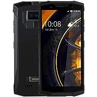 DOOGEE S80フリースマートフォン 5.99インチ大画面 2160 x 1080 pixels IP68 /防水防塵、10080mAhバッテリー、デュアルバックカメラ、指紋認証、Android 8.1 MTK6763T Octa Core、最大2.5GHz、ネットワーク:4G (黒)