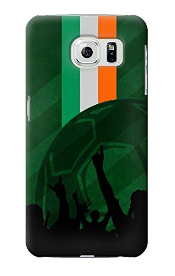 薬用お母さん示すJP3002GS6 アイルランドサッカー Ireland Football Soccer Flag Samsung Galaxy S6 ケース