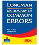 Longman Dictionary of Common Errors [Paperback] [Jan 01, 200…