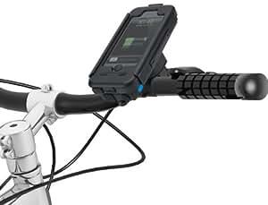 【大容量バッテリー搭載】TiGRA Sport BikeCONSOLE POWER PLUS for iPhone SE/5S/5 自転車 バイク ホルダー ケース 【 防水 防塵 耐衝撃 】