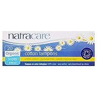 [Natracare] Natracare有機タンポンスーパー20パックあたり - Natracare Organic Tampons Super 20 per pack [並行輸入品]