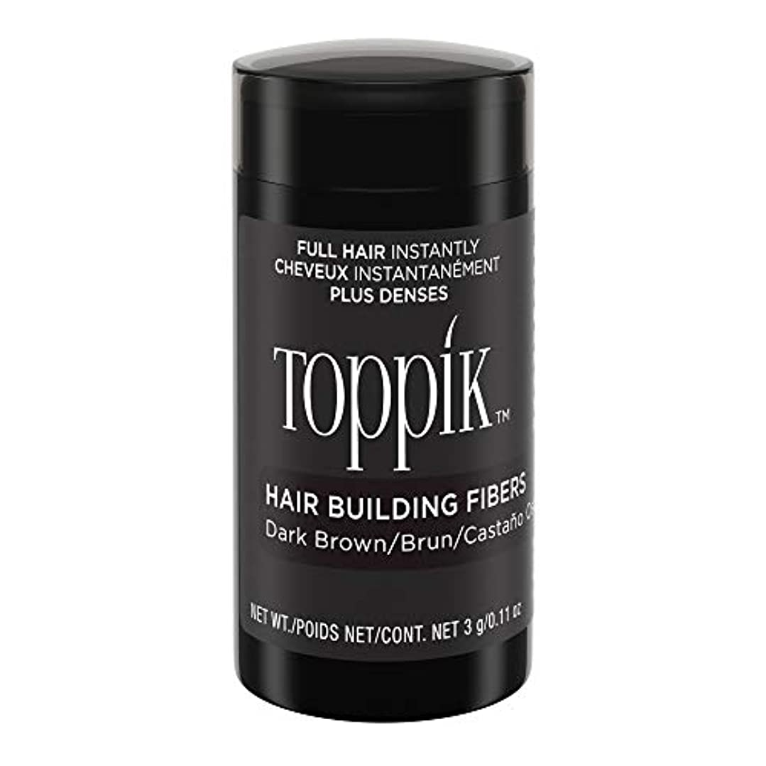 爆弾パンダテロToppik Hair Building Fibers - Dark Brown 0.09 oz. small travel size by Spencer Forrest