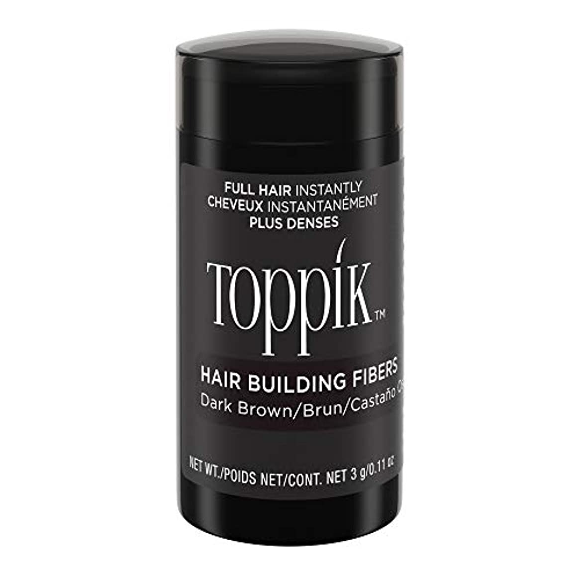 気がついて助言する等価Toppik Hair Building Fibers - Dark Brown 0.09 oz. small travel size by Spencer Forrest