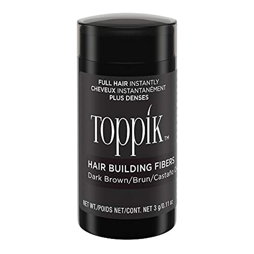 Toppik Hair Building Fibers - Dark Brown 0.09 oz. small travel size by Spencer Forrest