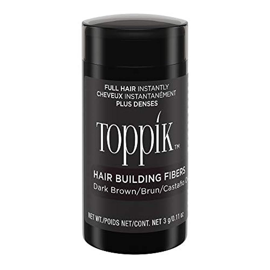 村死ぬ浸食Toppik Hair Building Fibers - Dark Brown 0.09 oz. small travel size by Spencer Forrest