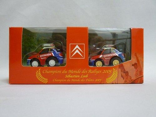 チョロQ シトロエン・クサラWRC2005 セバスチャン・ローブ(レースカー2台セット)