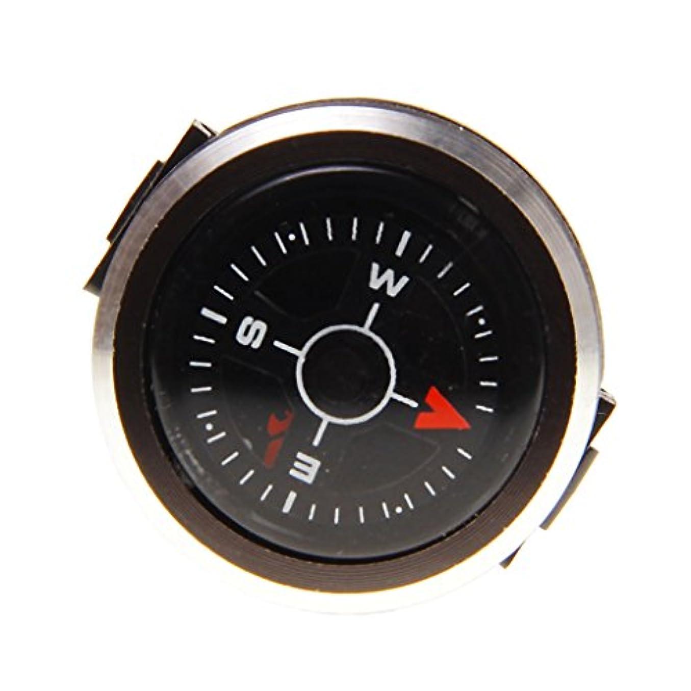 血光沢動物SunniMix 高品質 高感度 屋外 ハイキング 旅行 取り外し可能 アルミニウム合金 腕時計 コンパス 実用 便利