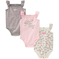Calvin Klein Baby Girls 3 Pieces Pack Bodysuits