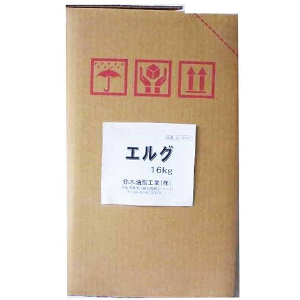 オール差し控えるに応じて鈴木油脂 水無しでも使える業務用手洗い洗剤 エルグ 16kg S-492