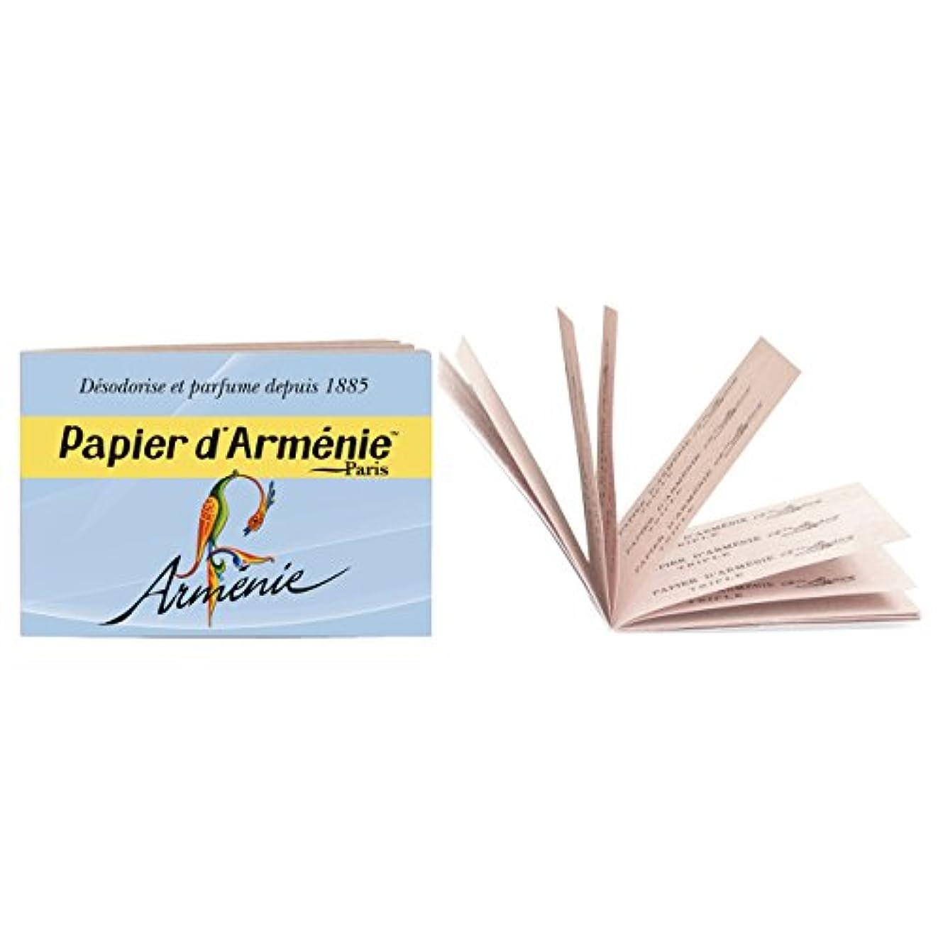 楽なパンフレットボトルネックパピエダルメニイ トリプル アルメニイ (紙のお香 3×12枚/36回分)