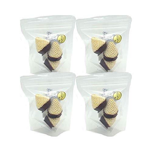 雪うさぎ 無添加・天然100%フリーズドライ白いちご(佐賀産))+チョコレート 15g/袋×4袋