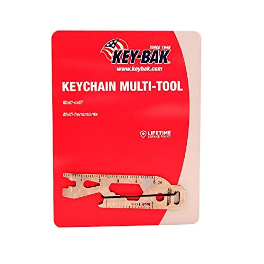 農業の概要老人KEY-BAK Keychain Multi-Tool, Silver by Key-Bak