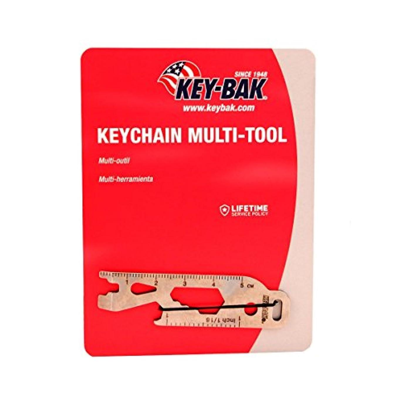 検索エンジンマーケティング購入豊富なKEY-BAK Keychain Multi-Tool, Silver by Key-Bak