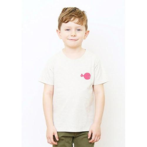 (グラニフ)graniph コラボレーションキッズ半袖Tシャツ / きんぎょがにげたドット ( 五味太郎 ) ( ヘザーナチュラル ) 110