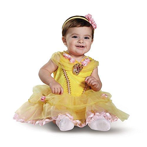 9c8f5e35c1f15 Disguise ディズニー プリンセス ベル コスプレ ドレス コスチューム 赤ちゃん 12-18ヵ月 幼児 女の子 美女と野獣 お姫様 ハロウィン  パーティー 衣装  並行輸入.