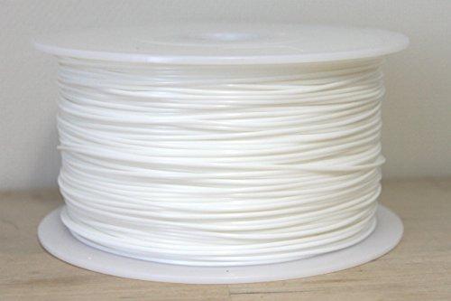 3Dプリンター用PLAフィラメント 【1.75mm】【1kg】【カラー選択可】 (白/ホワイト)