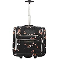 BEBE Valentina-Wheeled Under The Seat Carry-on Bag