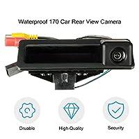 Ququack BMW E39 E46 1/3/5シリーズE60 E82 E90用カメラCMOSセンサーCCD HDカメラを反転させる防水170度車のリアビュー