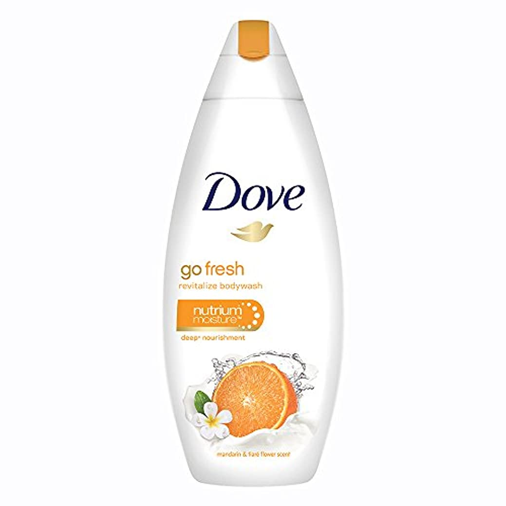 限定ストレージ不信Dove Go Fresh Revitalize Body Wash, 190ml