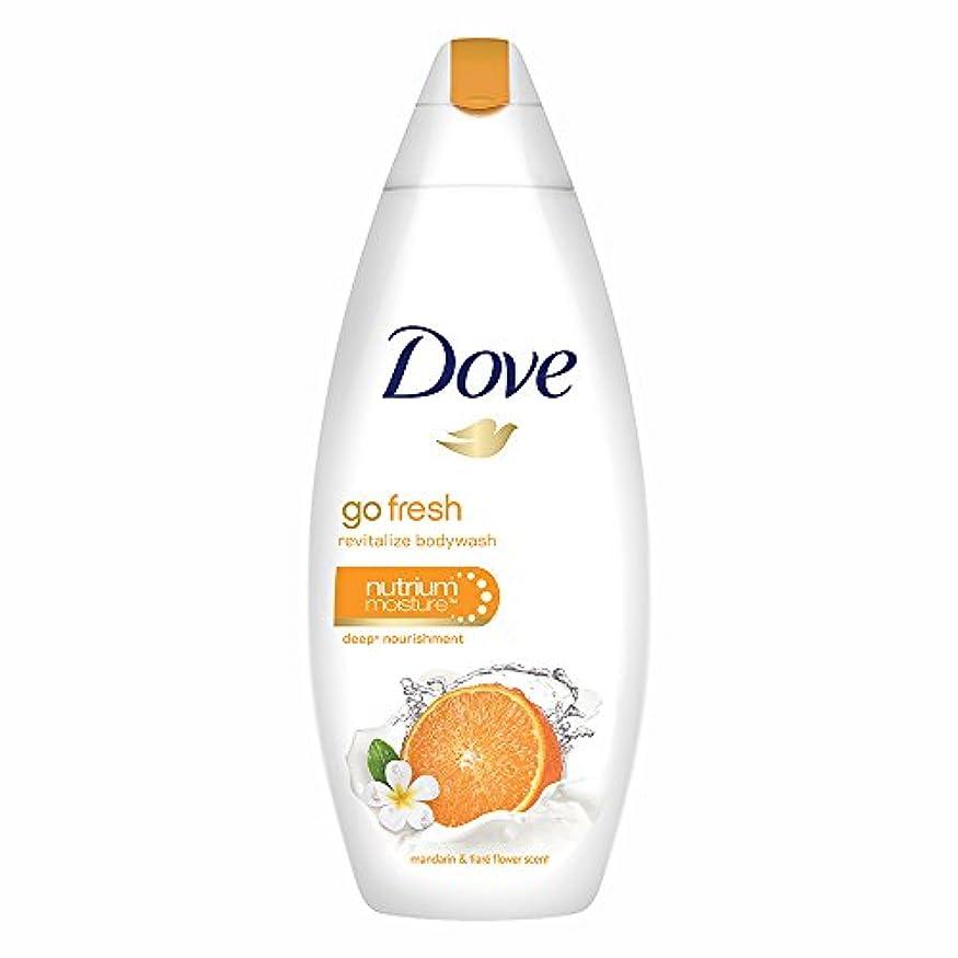 背の高いあなたが良くなります美容師Dove Go Fresh Revitalize Body Wash, 190ml