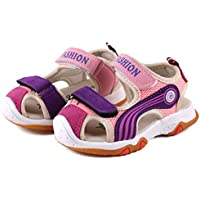 CINDEAR Kids Sports Sandals Summer Outdoor Closed-Toe Beach Sandals Water Shoes for Boys Girls