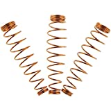Nrpfell 90pcs Durable Copper Golden Jack Springs Repair Part for Upright Piano