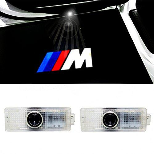 ColorBuy カーテシ LED カーテシランプ カーテシライト BMW車用 (M エンブレム)