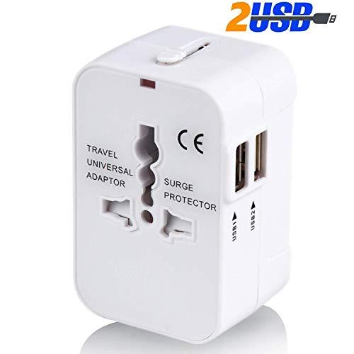海外変換プラグ 2USBポート旅行充電器 A/O/BF/Cタ...