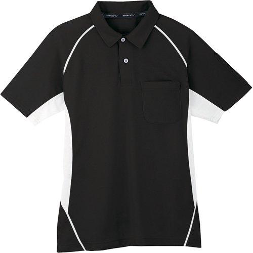 コーコス コーコス 半袖ポロシャツ 13ブラック 3L MX707133L