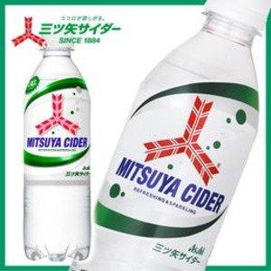 【まとめ買い】アサヒ 三ツ矢サイダーピュアボトル ペットボトル 500ml×24本(1ケース) ds-1266376