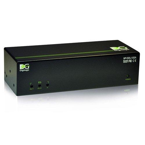 Digitogo SPシリーズ 1入力4出力デュアルリンクDVI分配器 SP-DDL104A