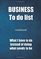 """My """"To do lists"""" - notebook tasks to do: To do list   Notebook to be completed   7 x 10 inches   102 high quality pages   Paperback   Lined   Notebook   Manuscript   To do list business   Objective to reach, list of tasks of the house for the office"""