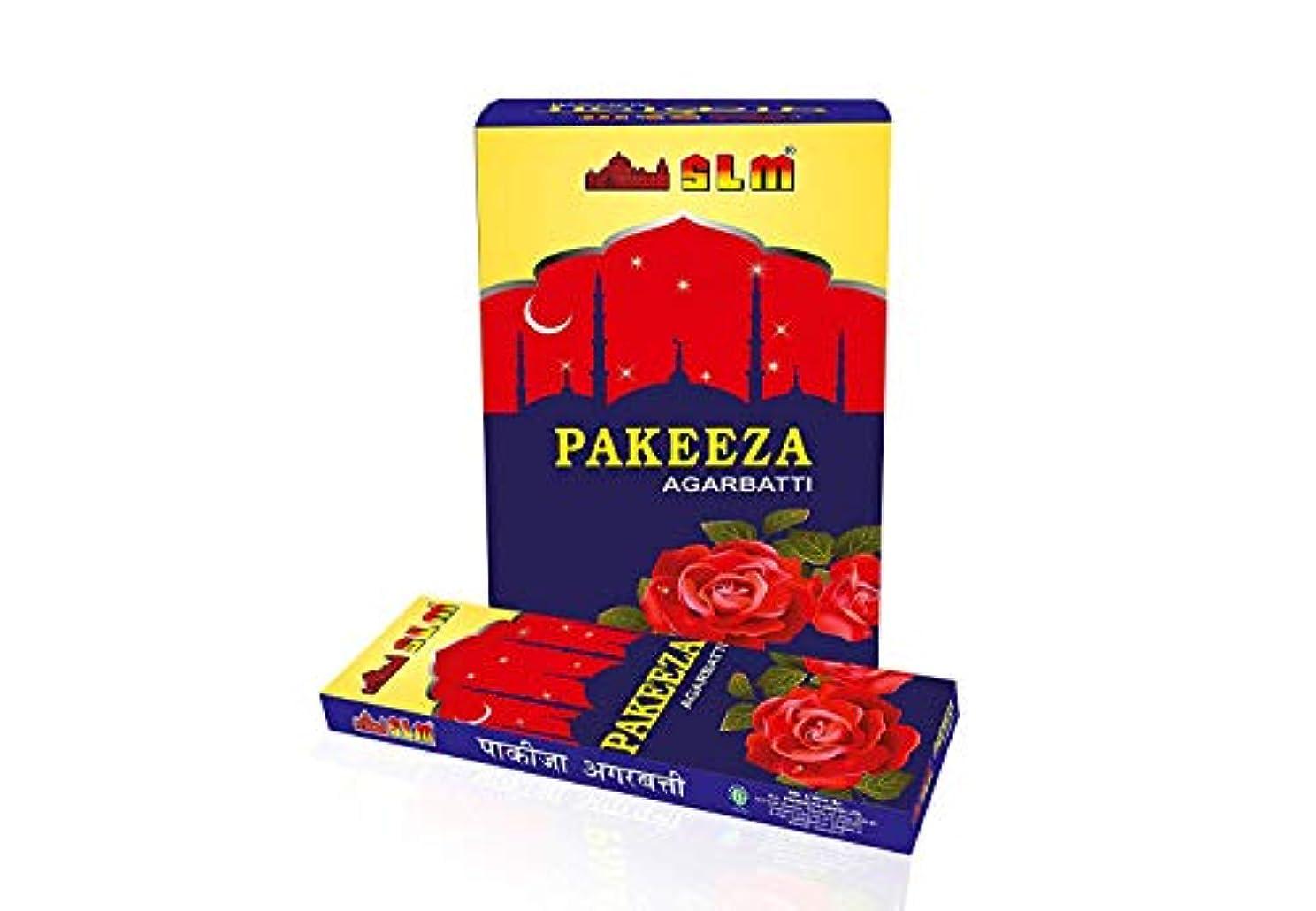 リスキーなシンプトンマティスSLM PAKEEZA AGARBATTI(Content :12 Packets,10 stick in Each Packet,Total :120 Sticks)