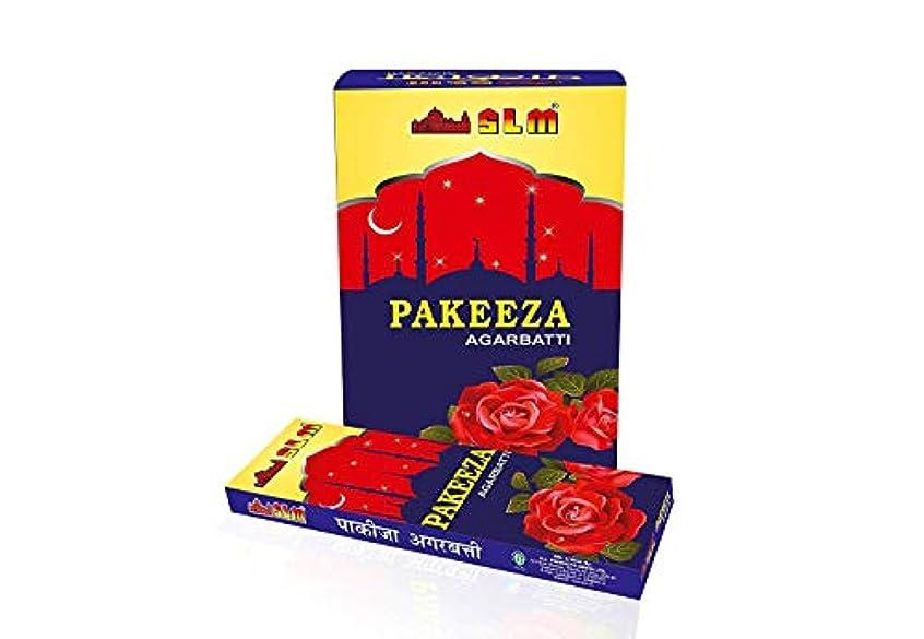 新鮮なメタンおばあさんSLM PAKEEZA AGARBATTI(Content :12 Packets,10 stick in Each Packet,Total :120 Sticks)