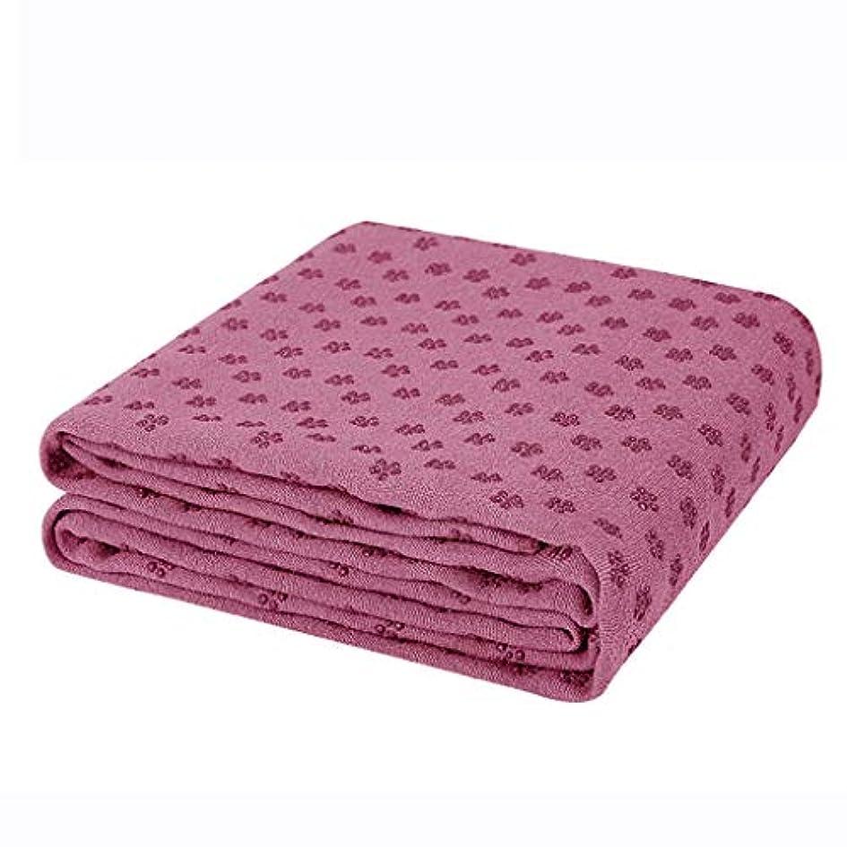 連帯ヘビステージ寝袋アウトドアアウトドアブッシュスリーシーズンキャンプ ヨガクッションノンスリップフィットネスマット表面用ヨガ理想的なホットヨガとピラティス収納バッグ付き183 * 66センチ7色 で利用できる単一の二重色 (色 : 紫の)