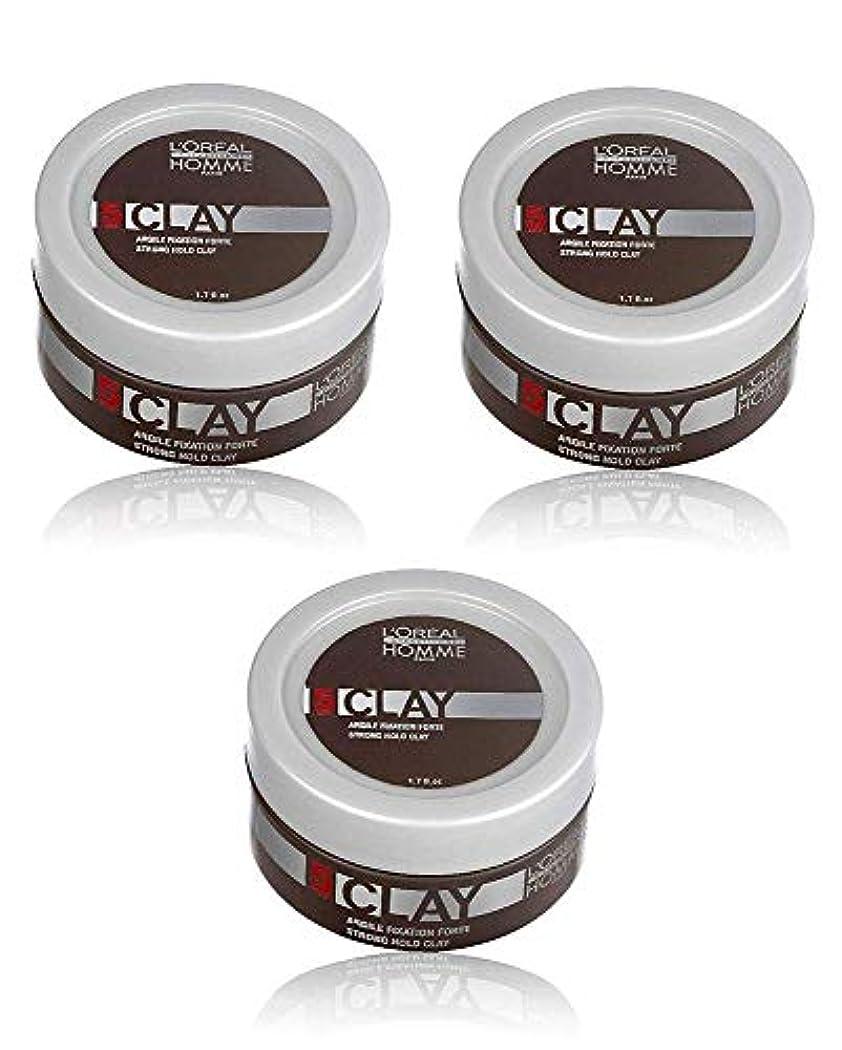 逆にマナー吸収剤ロレアル プロフェッショナル  5 クレイワックス 50g [ミディアムハードホールド] 整髪料