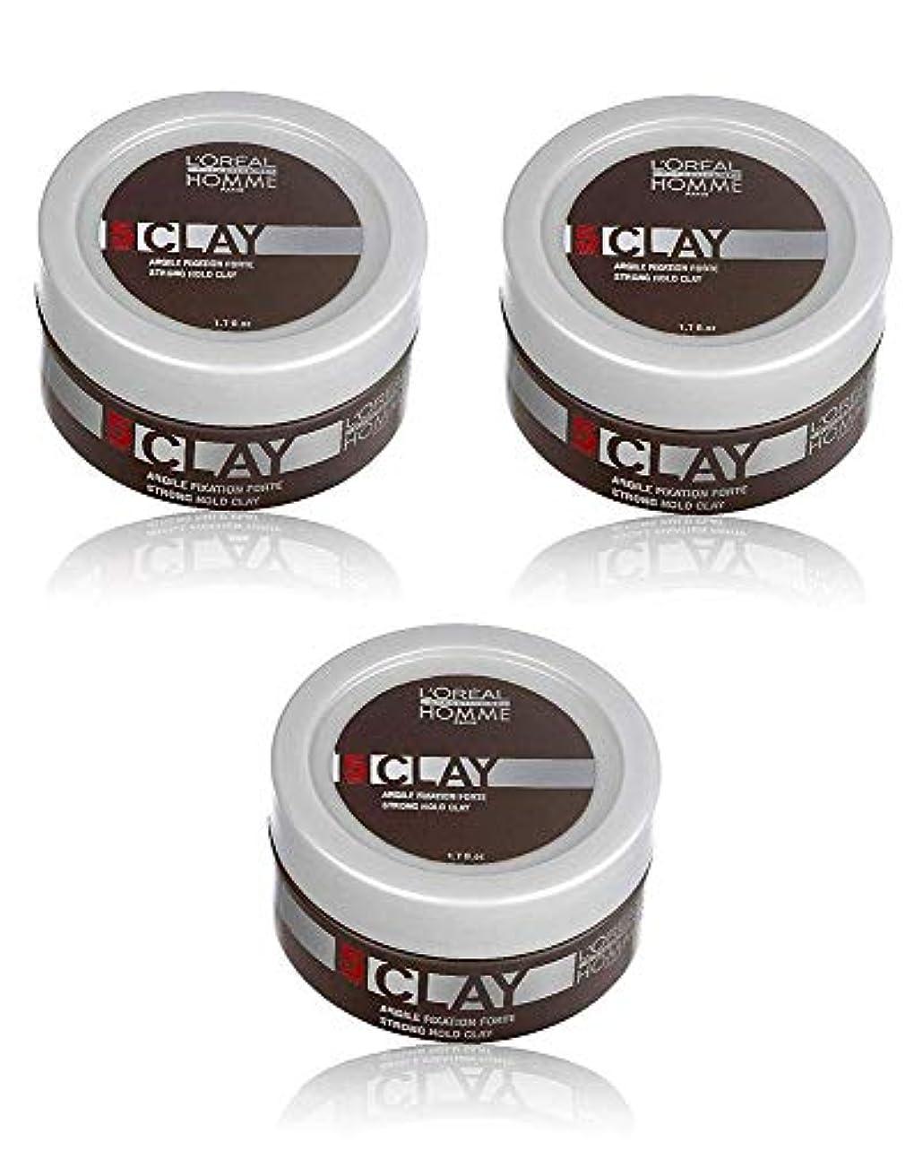 原理ラップ支給ロレアル プロフェッショナル  5 クレイワックス 50g [ミディアムハードホールド] 整髪料
