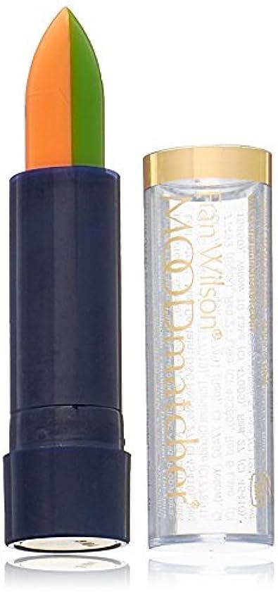 すき一時停止地球Fran Wilson MOODMATCHER Split Stick Lip Color Green/Orange (並行輸入品)