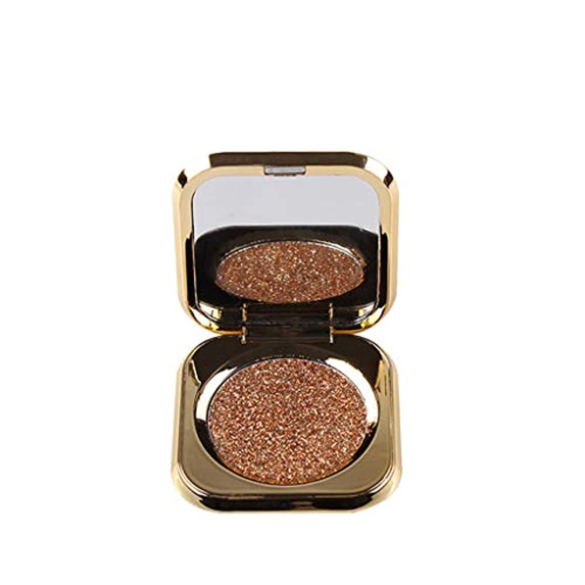 アジャ添付感嘆モノクロアイシャドー持続的着色は、美しさのゴールドアイシャドーをハイライトします。
