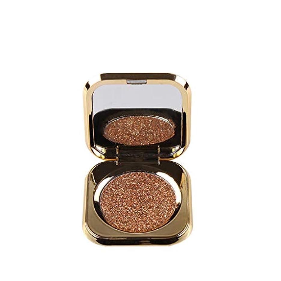 あご成熟した移行モノクロアイシャドー持続的着色は、美しさのゴールドアイシャドーをハイライトします。