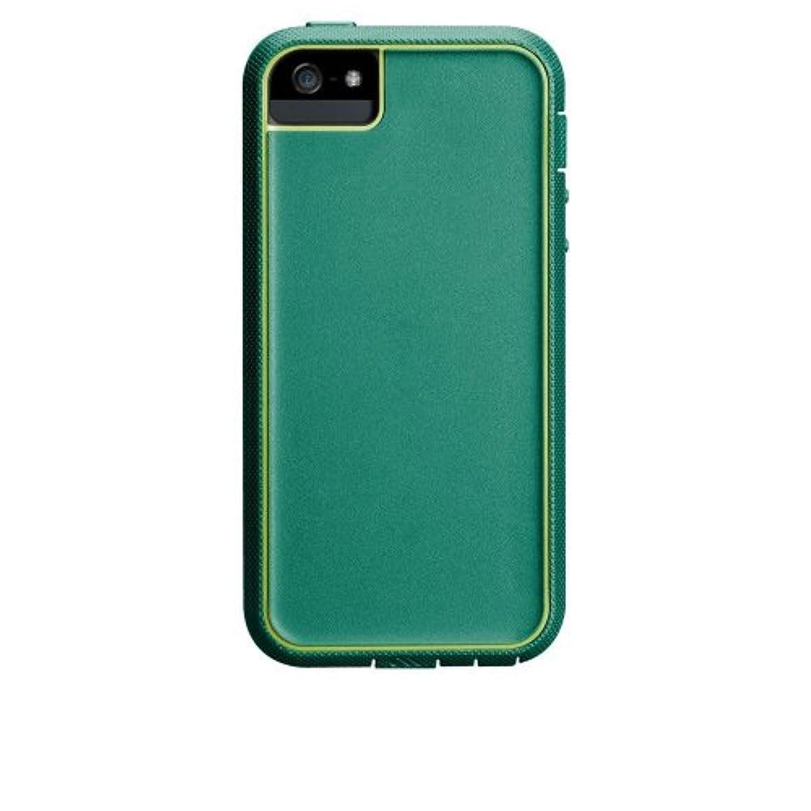 不健康圧力ランドリーCase-Mate iPhone 5用ハイブリッドフルカバーケース エメラルドグリーン/シャルトルーズグリーン CM022428