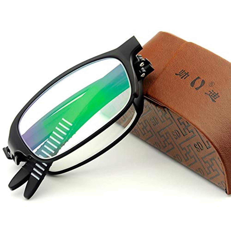男性と女性のための抗疲労折りたたみ老眼鏡、 フィルムコートレンズ光学ガラスゴーグル、 ハーフフレームTR90スプリングヒンジガラス、 老眼に適しています