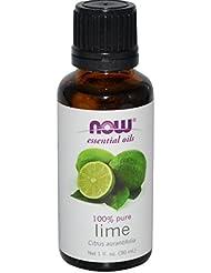 海外直送品Lime Oil, 1 OZ by Now Foods