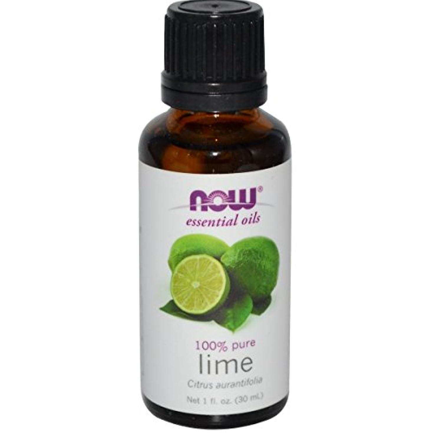記者超越する触手海外直送品Lime Oil, 1 OZ by Now Foods