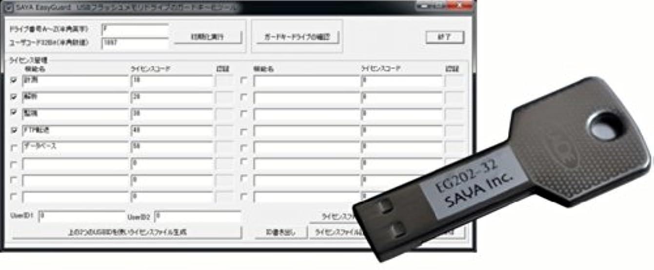再生的週末メナジェリーガードキー生成ソフトウェア EasyGuard EG202HS-6432